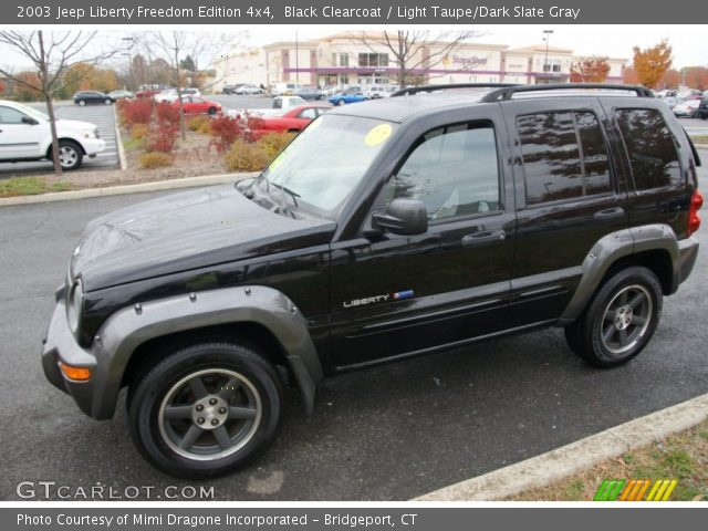 Black Clearcoat  2003 Jeep Liberty Freedom Edition 4x4  Light