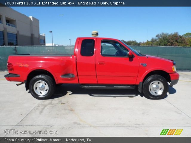 bright red 2000 ford f150 xlt extended cab 4x4 dark. Black Bedroom Furniture Sets. Home Design Ideas