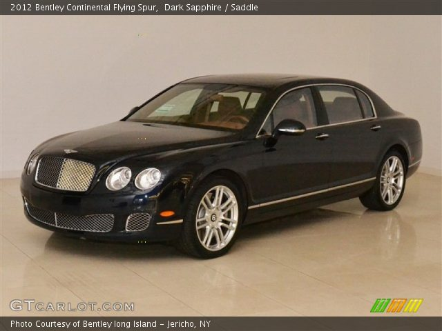2012 Bentley Continental Flying Spur  in Dark Sapphire