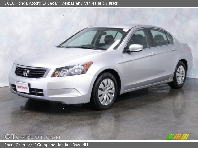 alabaster silver metallic 2010 honda accord lx sedan. Black Bedroom Furniture Sets. Home Design Ideas