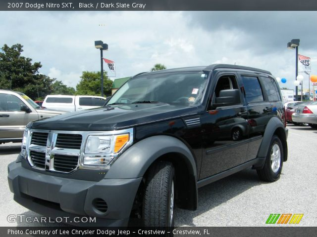 black 2007 dodge nitro sxt dark slate gray interior. Black Bedroom Furniture Sets. Home Design Ideas