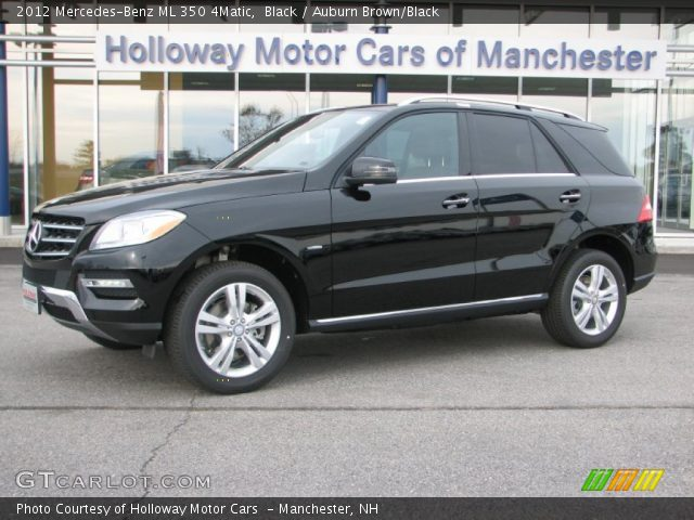 2012 Mercedes-Benz ML 350 4Matic in Black