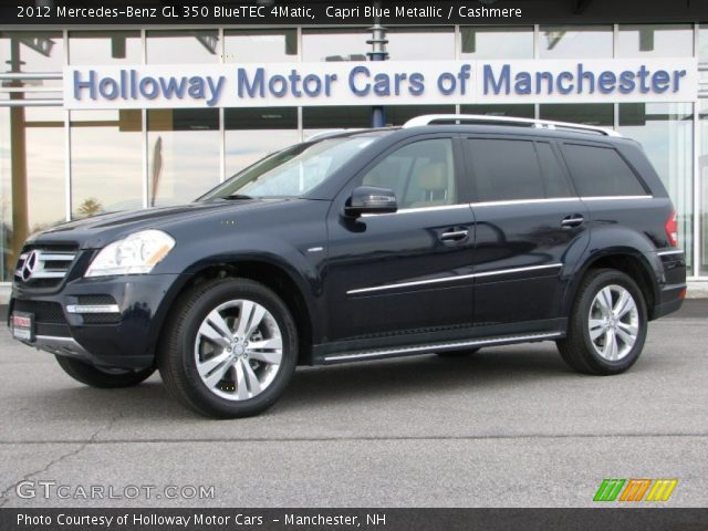 capri blue metallic 2012 mercedes benz gl 350 bluetec. Black Bedroom Furniture Sets. Home Design Ideas