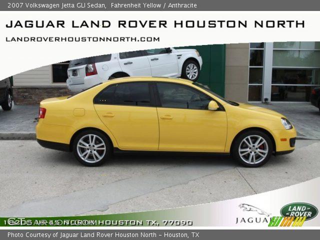 fahrenheit yellow  volkswagen jetta gli sedan anthracite interior gtcarlotcom