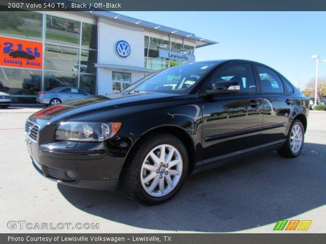 Black - 2007 Volvo S40 T5 - Off-Black Interior | GTCarLot.com - Vehicle Archive #56705114