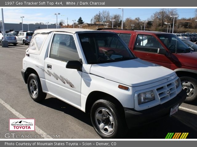1997 Geo Tracker Soft Top 4x4 in White
