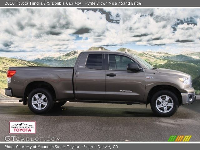 pyrite brown mica 2010 toyota tundra sr5 double cab 4x4. Black Bedroom Furniture Sets. Home Design Ideas