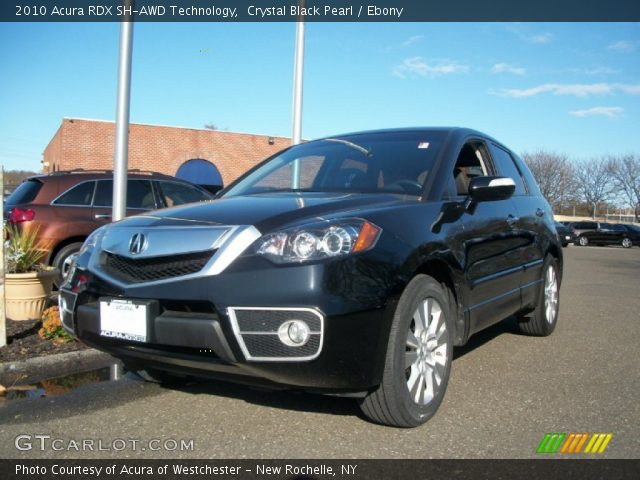 2010 Acura RDX SH-AWD Technology in Crystal Black Pearl. Click to see ...