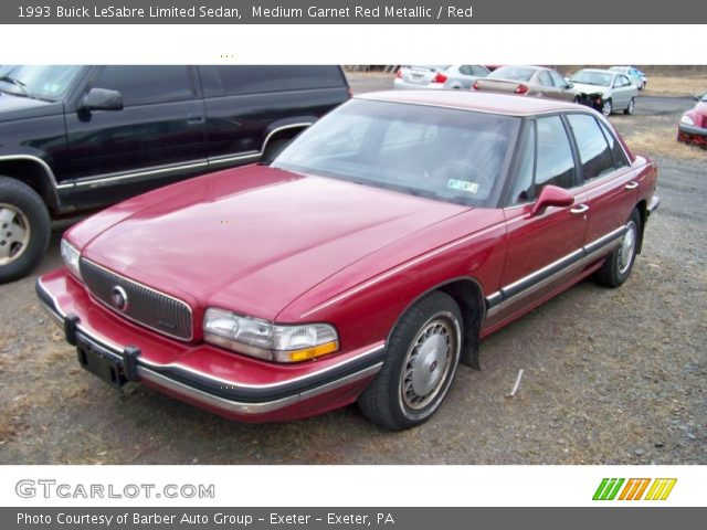 medium garnet red metallic 1993 buick lesabre limited. Black Bedroom Furniture Sets. Home Design Ideas