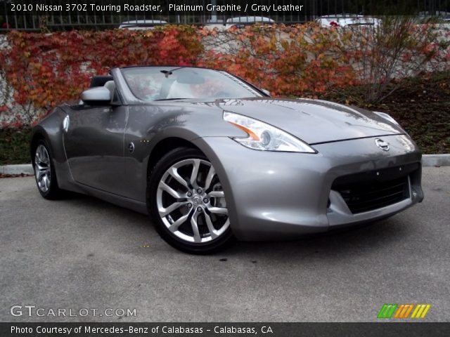 platinum graphite 2010 nissan 370z touring roadster. Black Bedroom Furniture Sets. Home Design Ideas