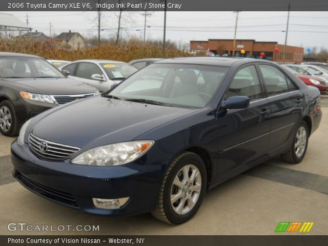 indigo ink pearl 2006 toyota camry xle v6 stone gray. Black Bedroom Furniture Sets. Home Design Ideas