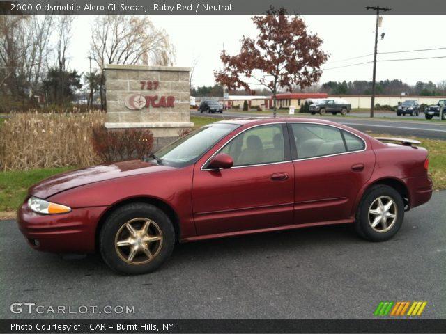 on 2000 Oldsmobile Alero In Red
