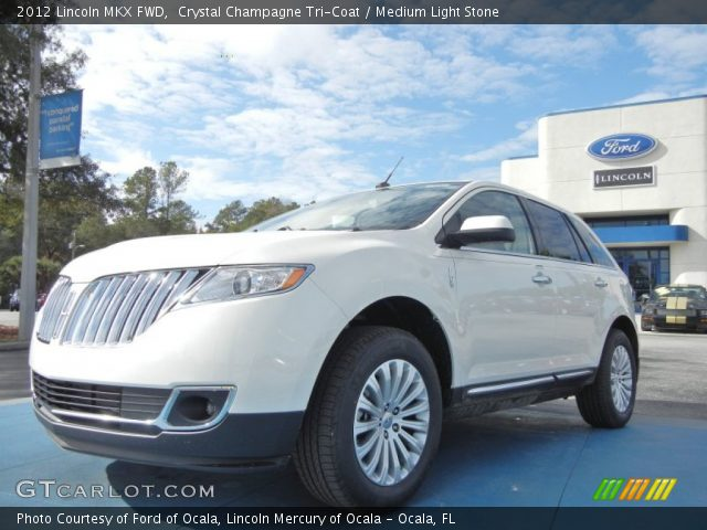 2012 Lincoln MKX FWD in Crystal Champagne Tri-Coat
