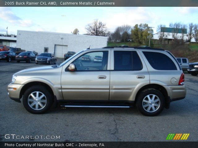 2005 Buick Rainier CXL AWD in Cashmere Metallic