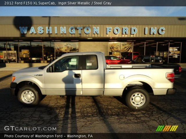 2012 Ford F150 XL SuperCab in Ingot Silver Metallic