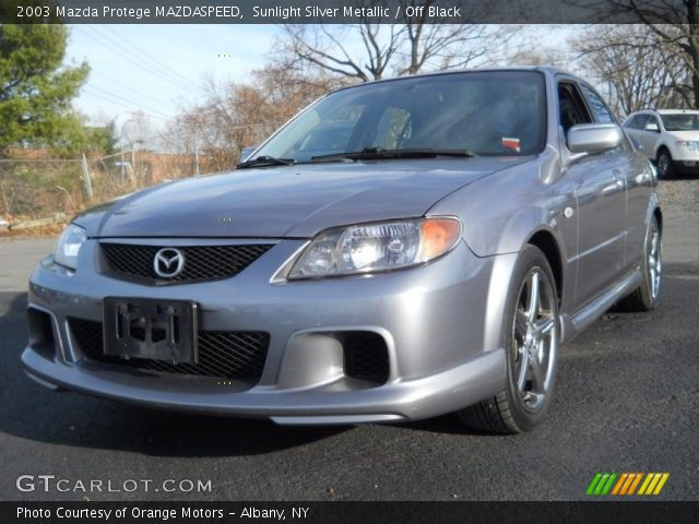 2003 Mazda Protege MAZDASPEED in Sunlight Silver Metallic