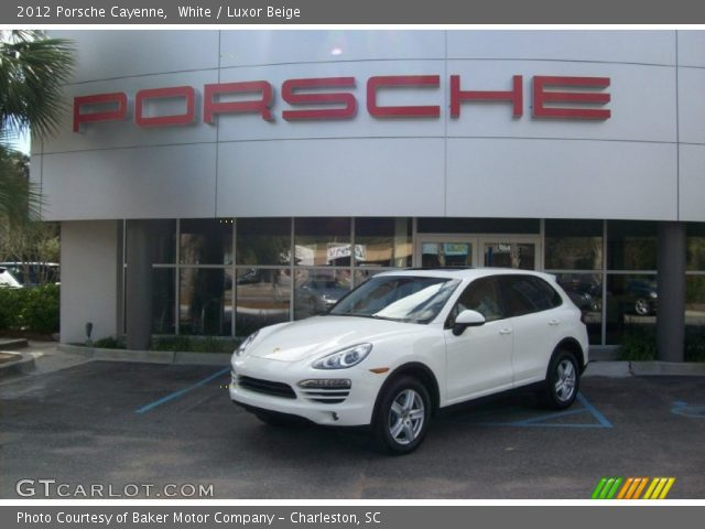 2012 Porsche Cayenne  in White