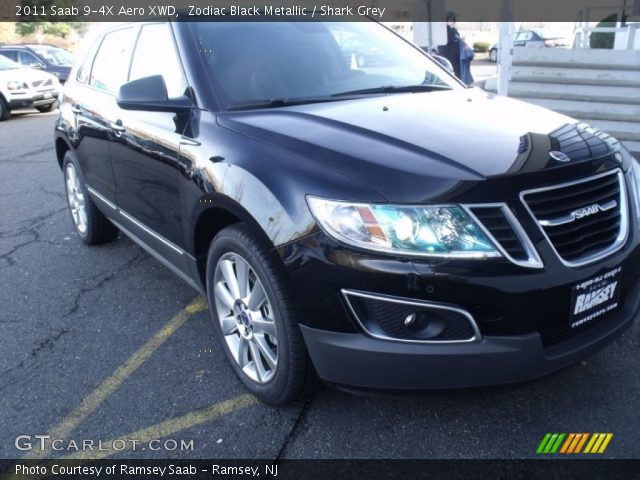 2011 Saab 9-4X Aero XWD in Zodiac Black Metallic