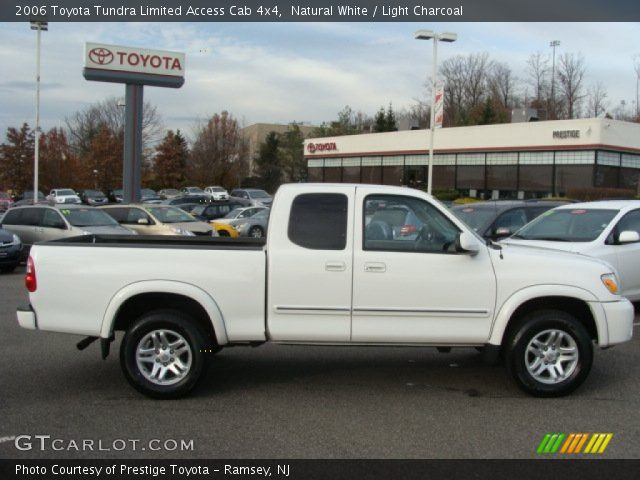 natural white 2006 toyota tundra limited access cab 4x4 light charcoal interior gtcarlot. Black Bedroom Furniture Sets. Home Design Ideas