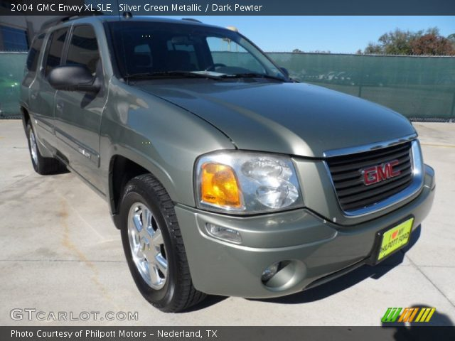silver green metallic 2004 gmc envoy xl sle dark. Black Bedroom Furniture Sets. Home Design Ideas