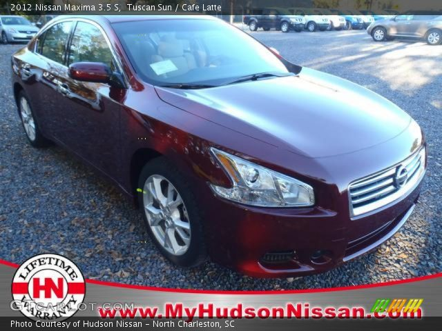 tuscan sun 2012 nissan maxima 3 5 s cafe latte interior vehicle archive. Black Bedroom Furniture Sets. Home Design Ideas