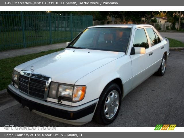 1992 Mercedes-Benz E Class 300 E Sedan in Arctic White
