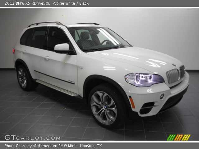 alpine white 2012 bmw x5 xdrive50i black interior vehicle archive 57034343. Black Bedroom Furniture Sets. Home Design Ideas