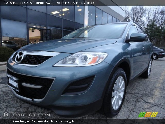 dolphin gray mica 2010 mazda cx 9 touring awd black. Black Bedroom Furniture Sets. Home Design Ideas