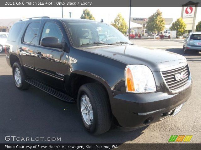 2011 GMC Yukon SLE 4x4 in Onyx Black