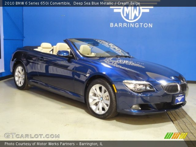 deep sea blue metallic 2010 bmw 6 series 650i. Black Bedroom Furniture Sets. Home Design Ideas