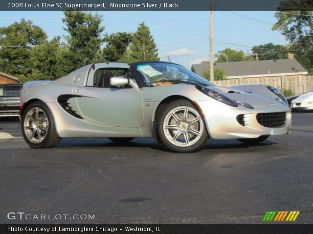 2008 Lotus Elise SC Supercharged in Moonstone Silver