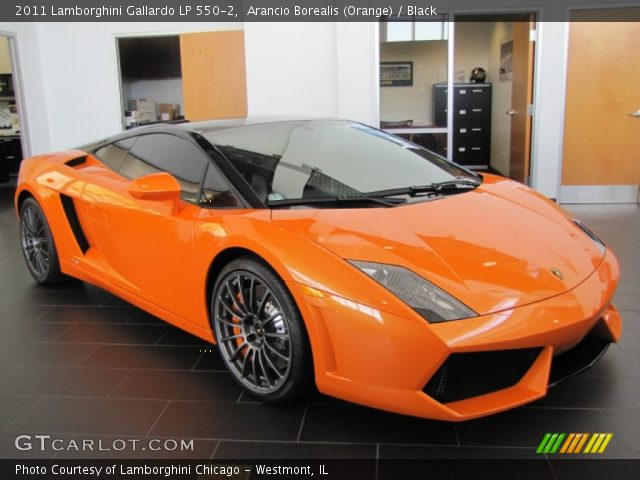 2011 Lamborghini Gallardo LP 550-2 in Arancio Borealis (Orange)