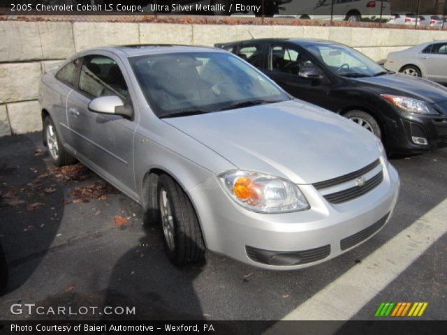 ultra silver metallic 2005 chevrolet cobalt ls coupe. Black Bedroom Furniture Sets. Home Design Ideas