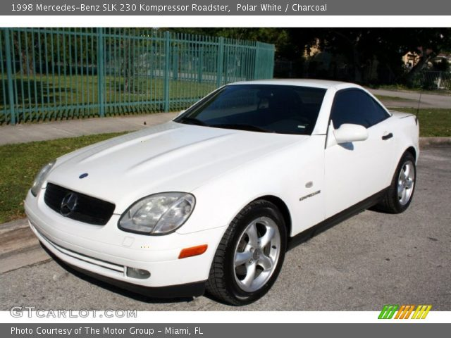 polar white 1998 mercedes benz slk 230 kompressor roadster charcoal interior. Black Bedroom Furniture Sets. Home Design Ideas