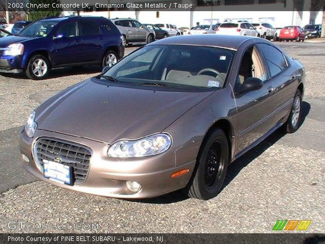 cinnamon glaze metallic 2002 chrysler concorde lx taupe interior. Cars Review. Best American Auto & Cars Review