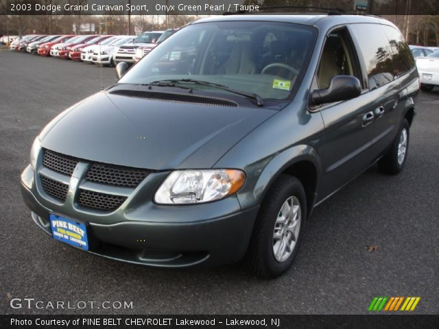 2003 dodge grand caravan sport in onyx green pearl click to see large. Cars Review. Best American Auto & Cars Review