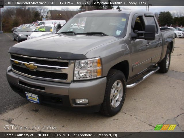 graystone metallic 2007 chevrolet silverado 1500 ltz. Black Bedroom Furniture Sets. Home Design Ideas