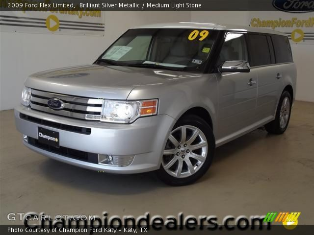brilliant silver metallic 2009 ford flex limited. Black Bedroom Furniture Sets. Home Design Ideas