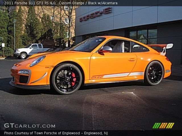 2011 Porsche 911 GT3 RS 4.0 in Custom Orange