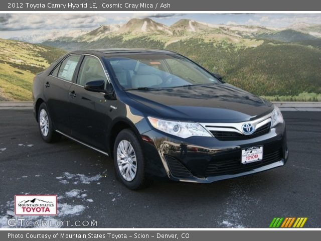2012 Toyota Camry Hybrid LE in Cosmic Gray Mica