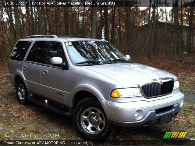 Silver metallic 2000 lincoln navigator 4x4 medium graphite interior vehicle 2000 lincoln navigator interior