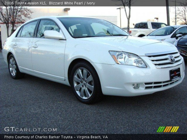blizzard white pearl 2006 toyota avalon xls ivory. Black Bedroom Furniture Sets. Home Design Ideas