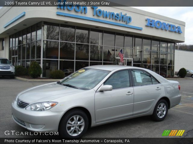 lunar mist metallic 2006 toyota camry le v6 stone gray. Black Bedroom Furniture Sets. Home Design Ideas