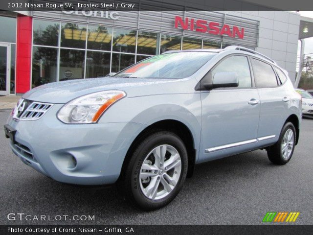 Frosted steel 2012 nissan rogue sv gray interior - 2012 nissan rogue exterior colors ...