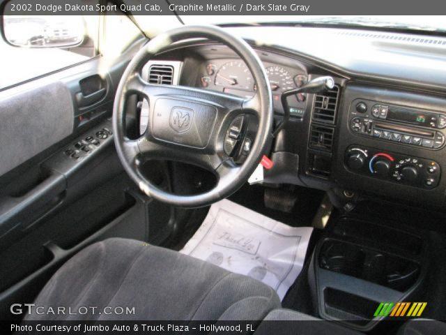 on 2002 Dodge Dakota Sport Blue