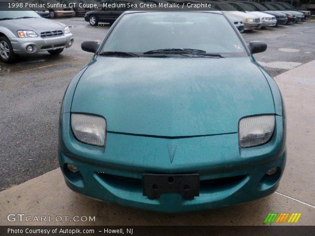 1998 Pontiac Sunfire GT Coupe in Medium Sea Green Metallic