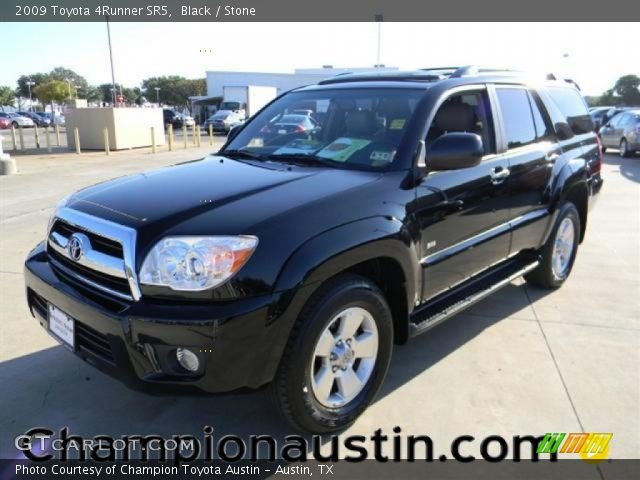 black 2009 toyota 4runner sr5 stone interior vehicle archive 57539553. Black Bedroom Furniture Sets. Home Design Ideas