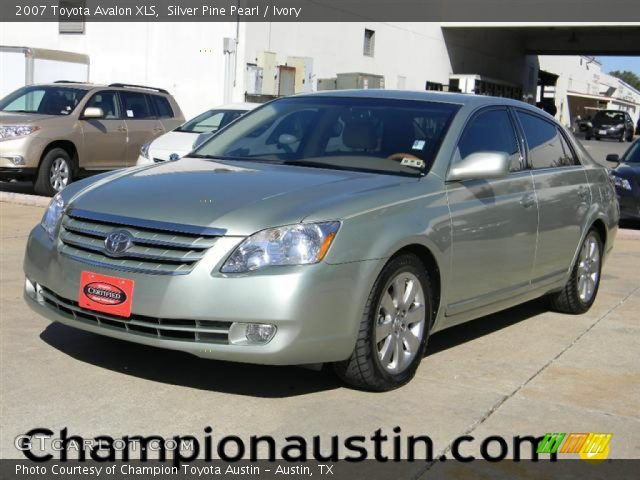 silver pine pearl 2007 toyota avalon xls ivory. Black Bedroom Furniture Sets. Home Design Ideas