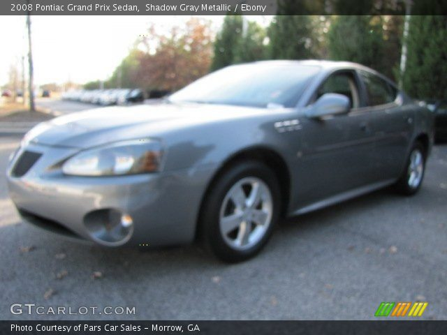 2008 Pontiac Grand Prix Sedan in Shadow Gray Metallic