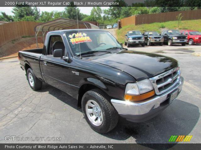 2000 ford ranger xlt regular cab in black - 2000 Ford Ranger Black